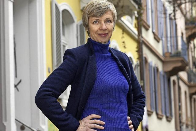 Die aus dem TV bekannte Schauspielerin Anna Stieblich am Freiburger Stadttheater