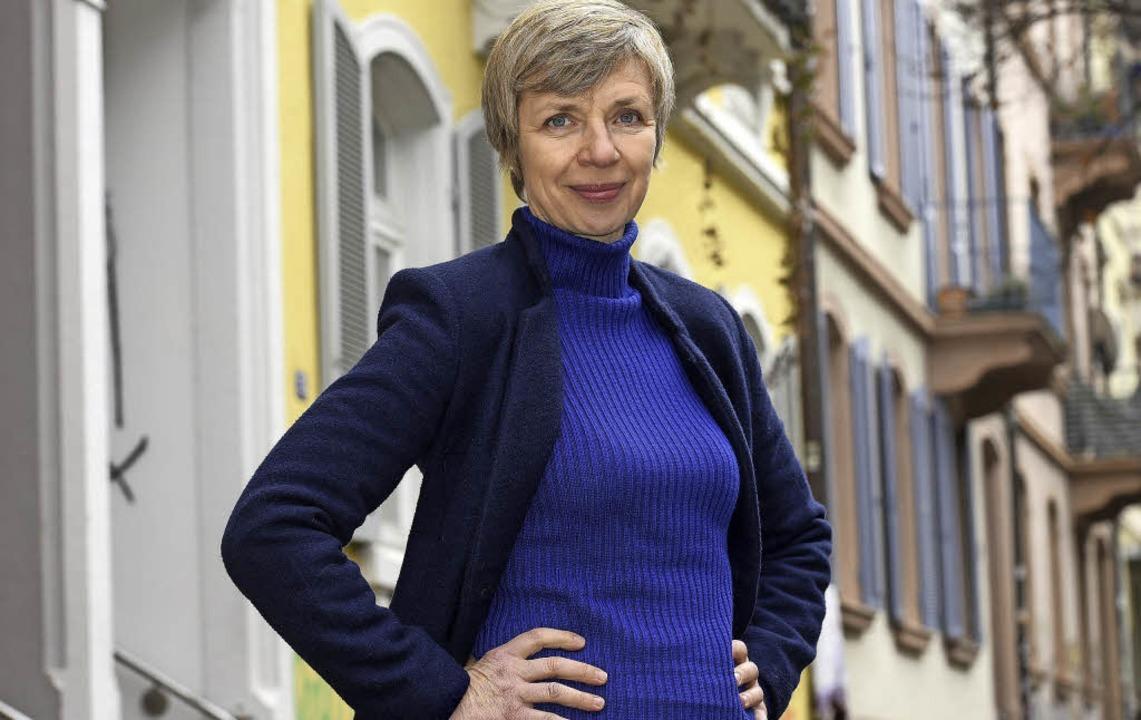 Anna Stieblich in Freiburg  | Foto: Thomas Kunz