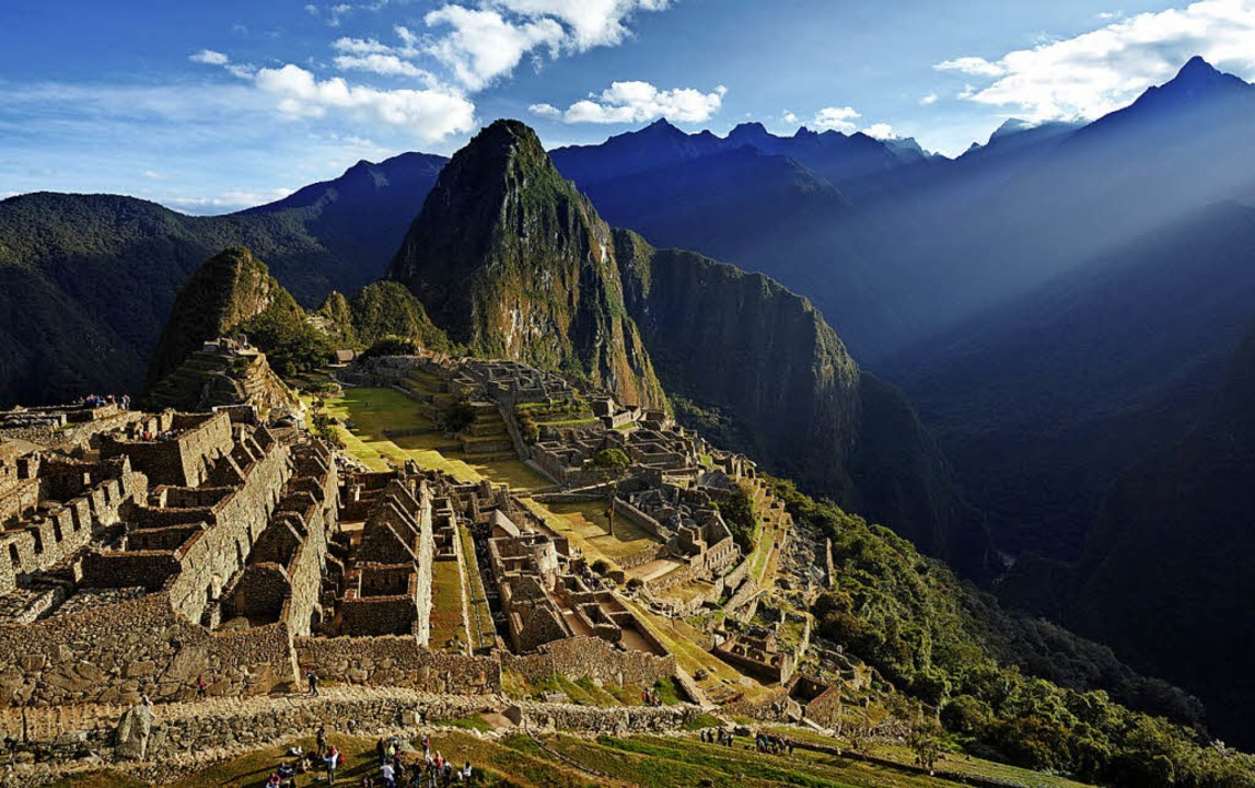 Höhepunkt jeder Peru-Reise: die  Inkastadt Machu Picchu    Foto: dpa-tmn