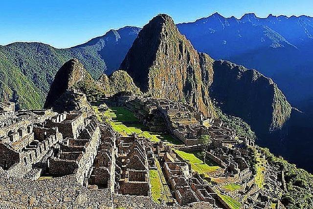 Martin engelmann referiert über Peru in Müllheim