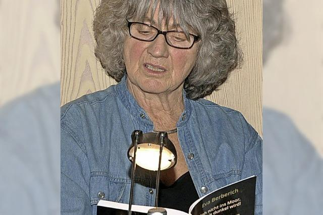 Eva Berberich liest am Freitag, 23. Februar, im Restaurant Kamino in Häusern