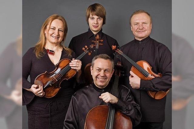 Das Vlach Quartett gastiert am Samstag, 17. Februar, im Haus der Begegnung in Grenzach