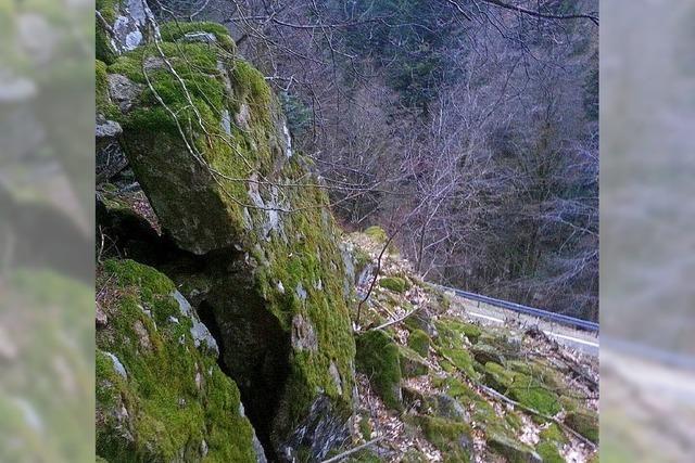 L 131 gesperrt wegen Felssturzgefahr