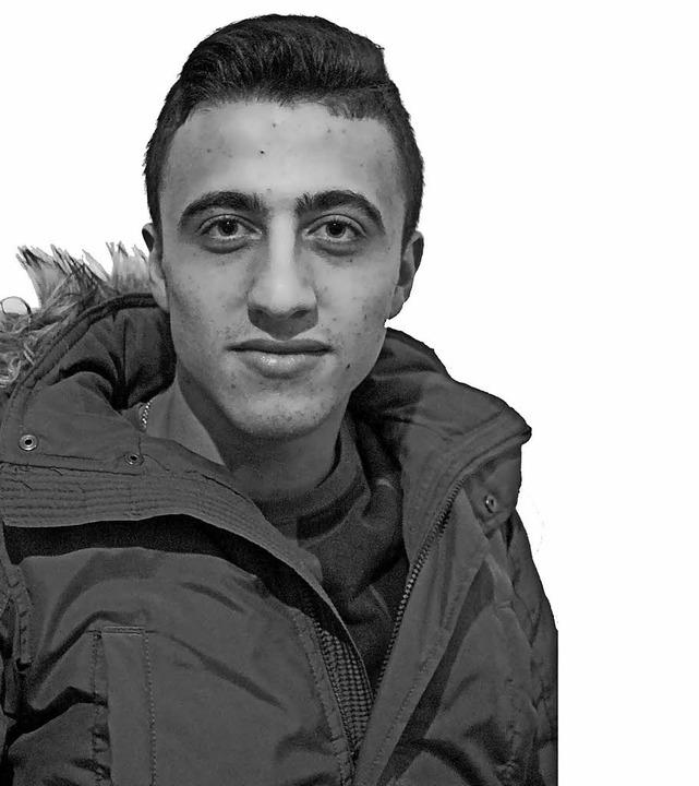 Ahmad, 19 Jahre, kam 2015 aus Syrien n...schen hat er das Niveau B 2 erreicht.   | Foto: Privat