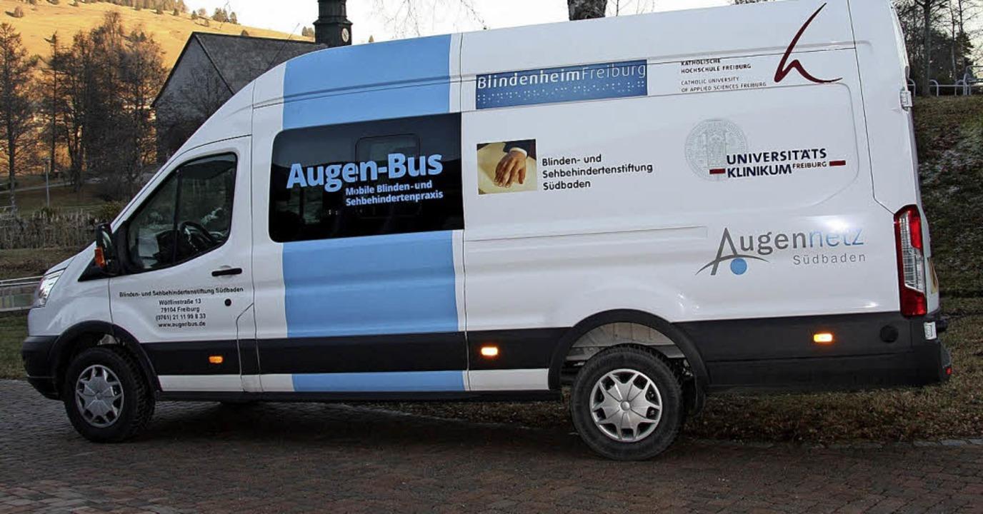 Der Augenbus transportiert Untersuchungsgegenstände.  | Foto: Privat