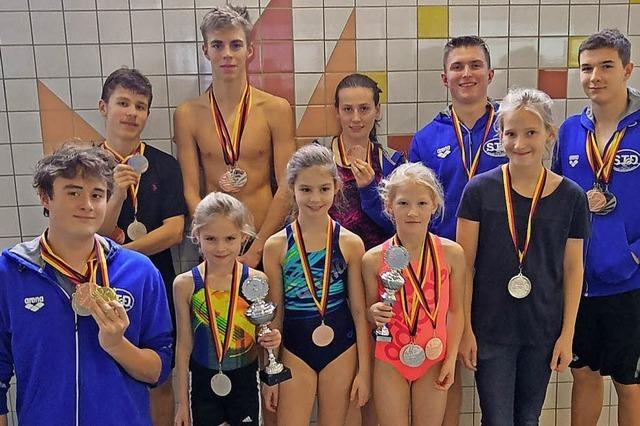Denzlinger Schwimmteam holt 29 Medaillen