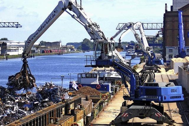 Der Kehler Hafen schreibt erneut ein Umsatzplus