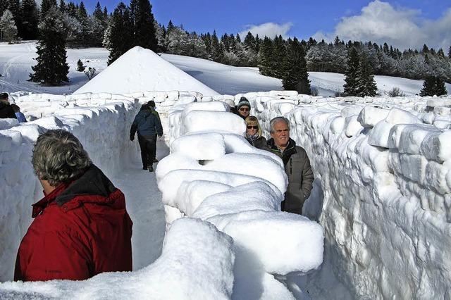 Schneekunst lockt viele Besucher