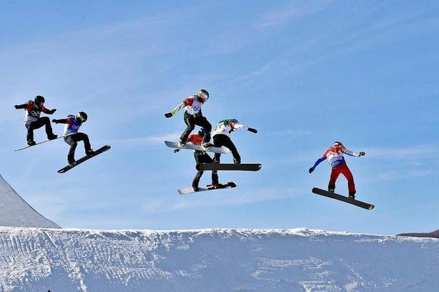 Ist der Kurs der Snowboardcrosser zu gefährlich?