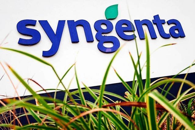 Syngenta verzeichnet weniger Umsatz