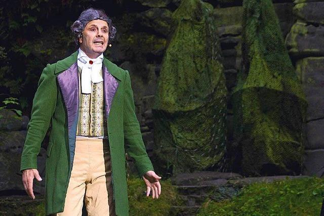 In Badenweiler kommt Goethes Faust als Rockoper auf die Bühne