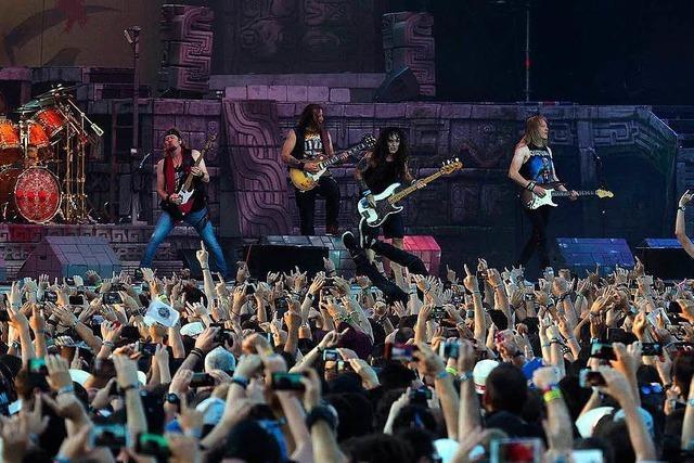 30.000 sollen im Sommer zu Iron Maiden auf das Messegelände kommen