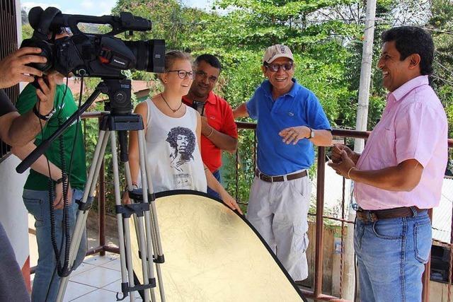Ein Filmemacher hat einen Film über alle 12 Partnerstädte Freiburgs gedreht