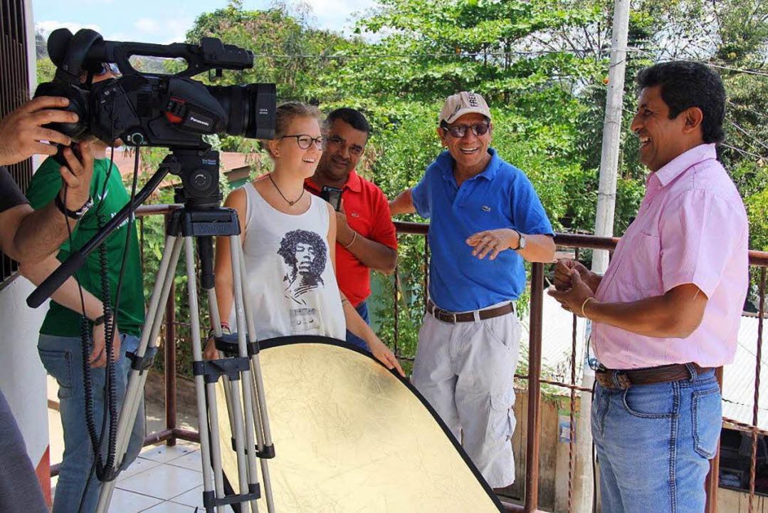Filmarbeiten in Wiwili     Foto: Bülent Gencdemir