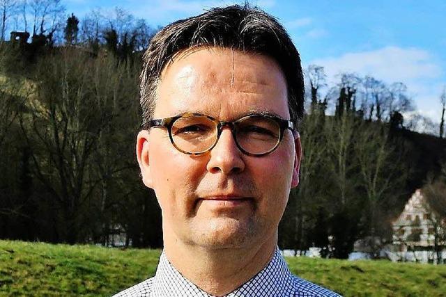 Stefan Mäder kandidiert bei der Bürgermeisterwahl in Riegel