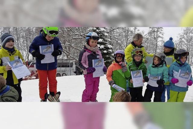 Auch Schneeschuhwanderer hatten Spaß