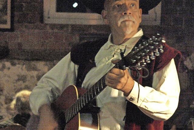 Liederabend mit Roland Kroell in Wehr zum 170. Jahrestag der badischen Revolution