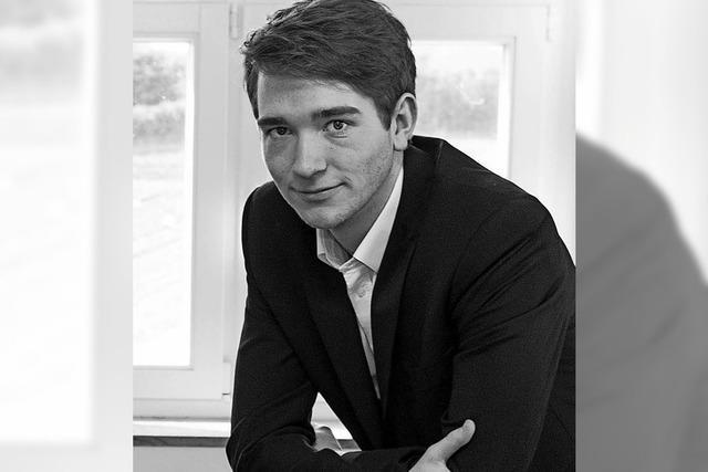 Pianist Max Philip Klüser gibt am Montag, 19. Februar, Konzert in der Sigma-Klinik in Bad Säckingen.