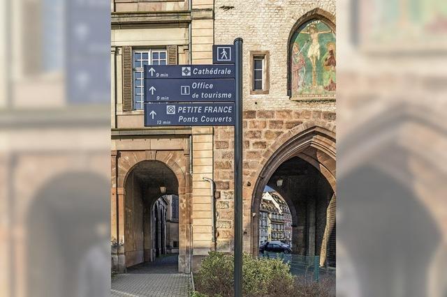 Mehr Service für Straßburg-Touristen