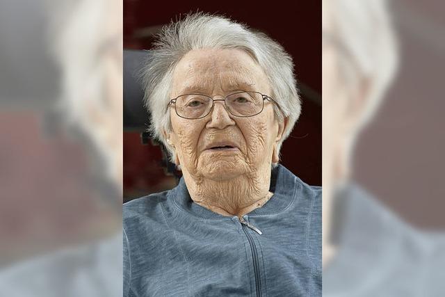 100-jährige Freiburgerin erzählt von ihren Träumen