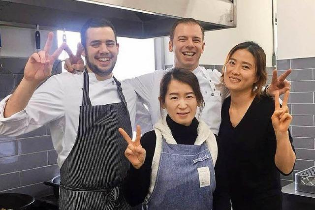 Ein Freiburger und ein Kirchzartener kochen bei den Olympischen Spielen