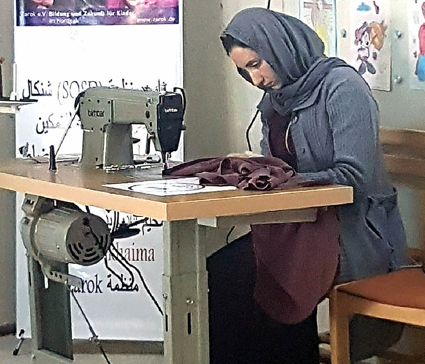 Die Nähausbildung soll den Frauen neue Perspektiven eröffnen.  | Foto: privat