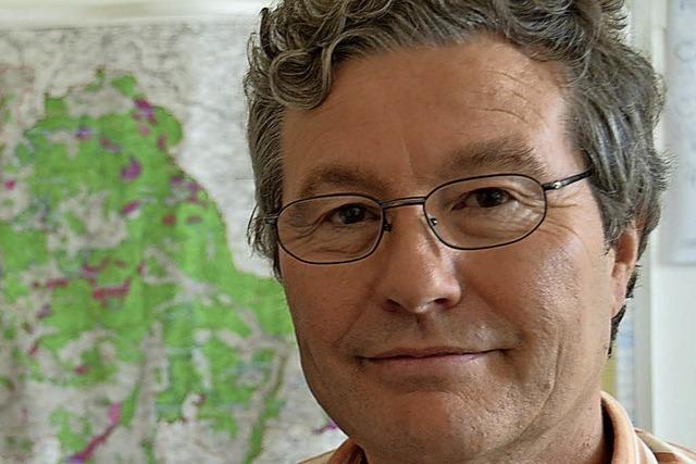 Bernd-Jürgen Seitz in der Rainhofscheune