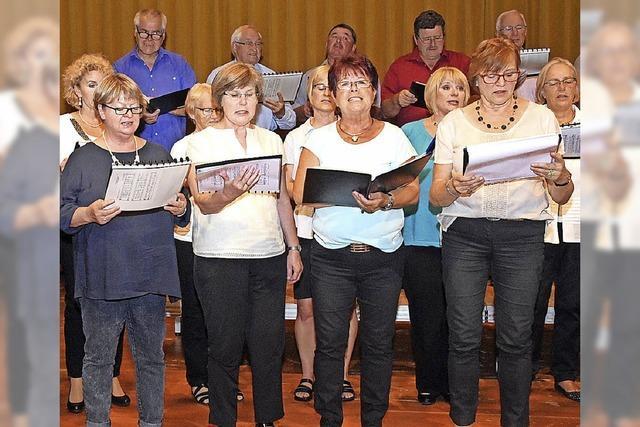 Chor sucht neue Stimmen