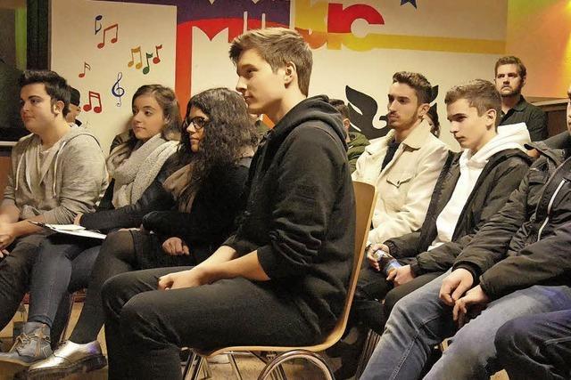 Jugend interessiert Zukunft der Stadt