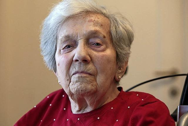 60 Jahre lang war Theresia Leimgruber in der Freiburger Wiehre zu Hause