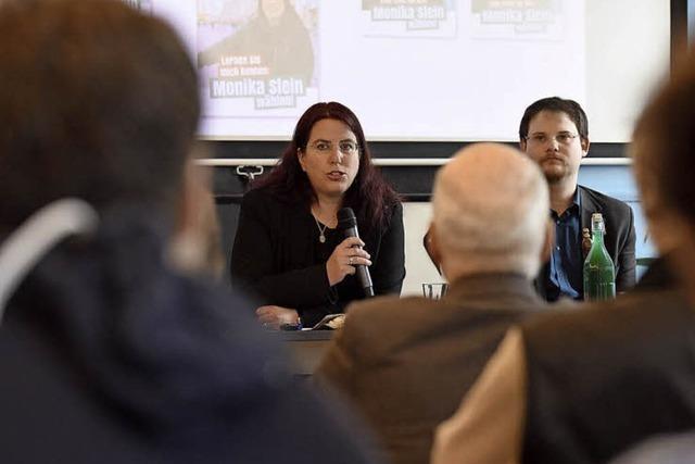 Monika Stein läutet Kampf zur OB-Wahl ein