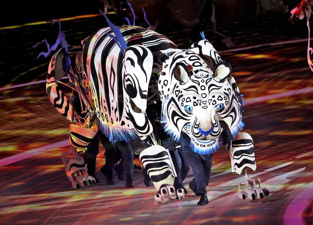 Der Weiße Tiger Olympische Spiele Badische Zeitung