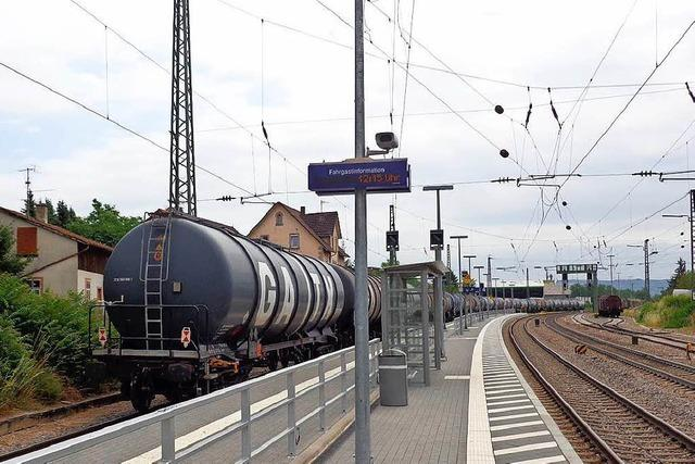 Bahn sucht bei Efringen-Kirchen nach regionaler Lösung
