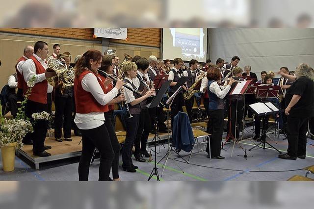 Stadtmusik Sulzburg ist ein junges Orchester
