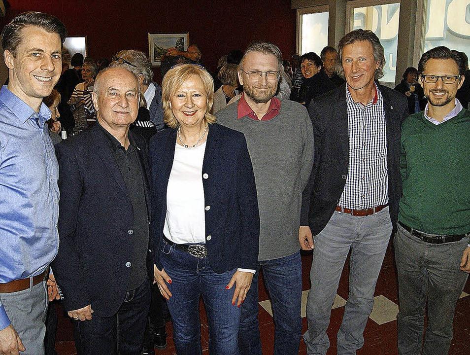 Freunde des Gloria-Theaters Bad Säckin...ria-Geschäftsführer Alexander Dieterle  | Foto: Maria Schlageter