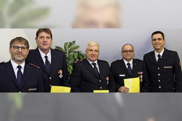 Die Maulburger Feuerwehr hat viele Stützen
