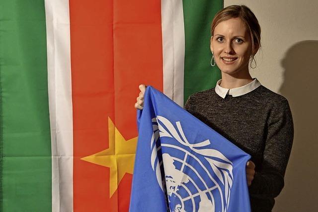 DHB-Studierende aus Lörrach simulieren die UN-Konferenz