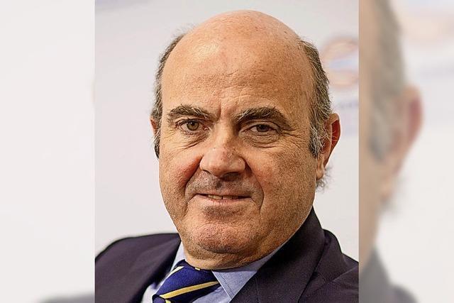 Der Spanier Luis de Guindos soll EZB-Vize werden