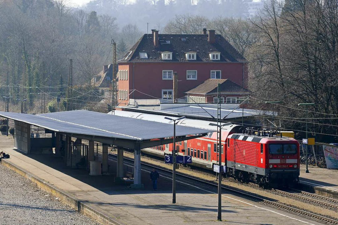 Der Wiehrebahnhof wird zur Schaltzentrale beim S-Bahn-Großprojekt.  | Foto: Ingo Scheider