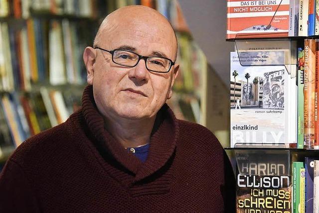 Ulrich Pröfrock gibt seinen Comicladen