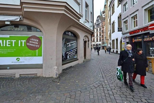 Gastronomie verdrängt den Einzelhandel zunehmend aus der Freiburger Innenstadt
