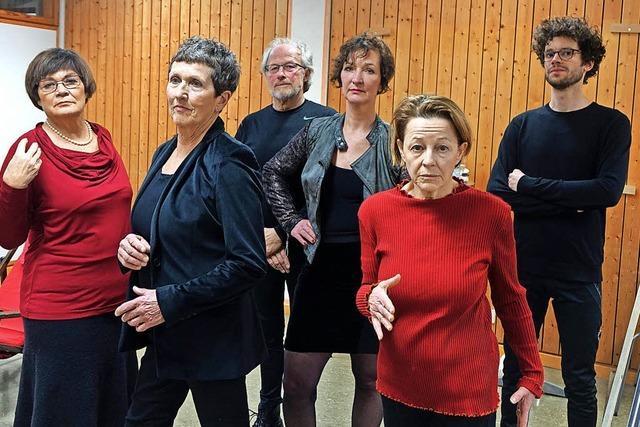 Spielbühne Schopfheim probt anspruchsvolles Stück
