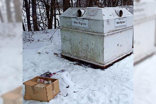 Ohne Handhabe gegen illegale Müllentsorger