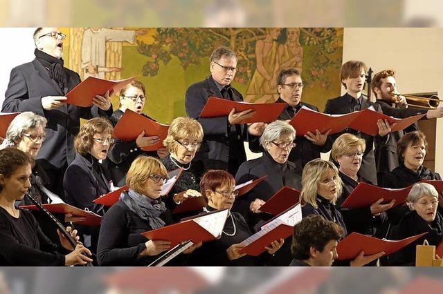 Kammerchor bietet Kirchenmusik zur inneren Einkehr