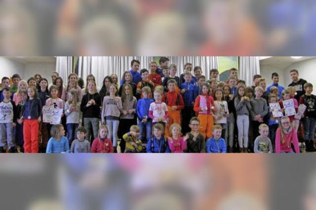 139 Kinder und Jugendliche am Start