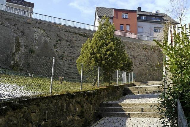 Stützmauer kostet 310 000 Euro