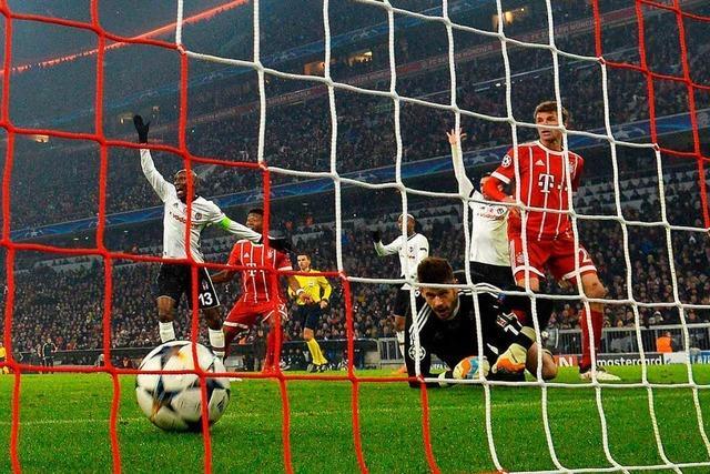 FC Bayern gewinnt gegen Besiktas Istanbul mit 5:0