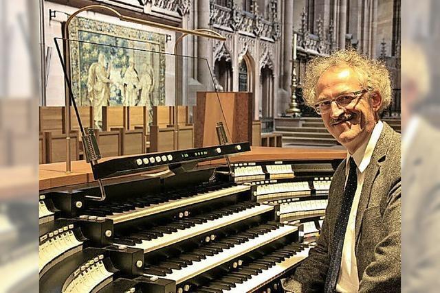 Organist Gerhard Gnann gestaltet am Samstag die nächste Orgelmusik zur Marktzeit in Bad Säckingen