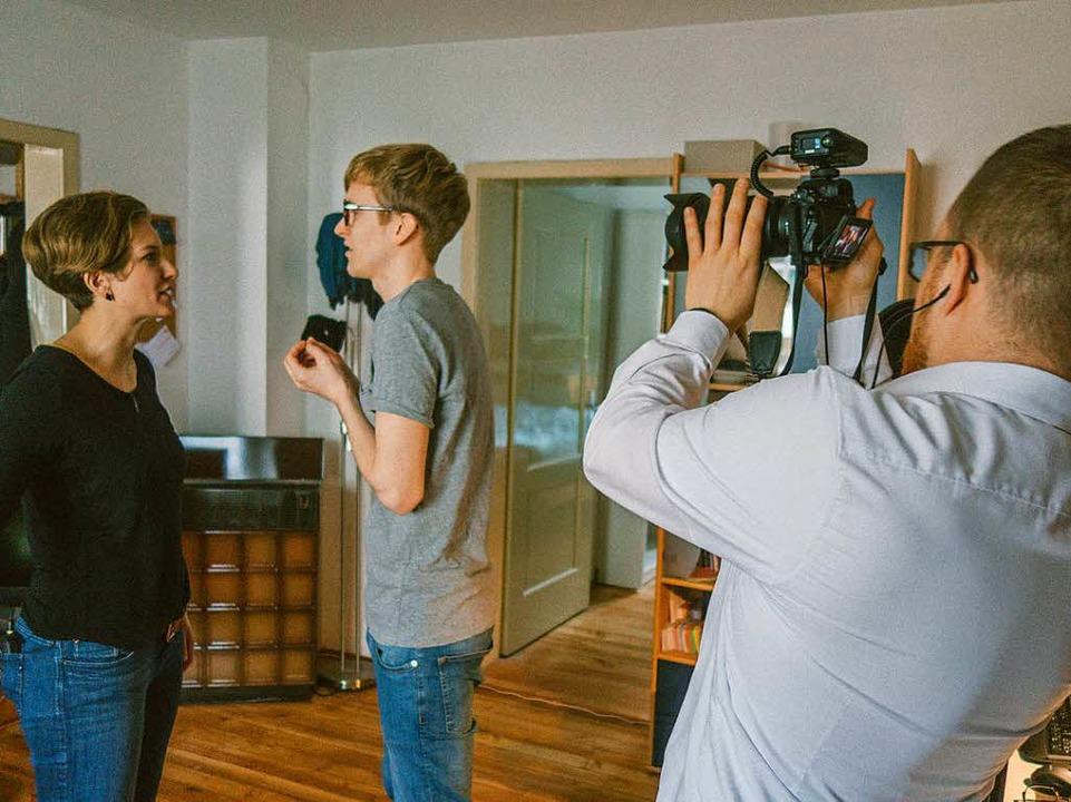 "Making of: Der Film ""Große Koalition""    Foto: Kathinka Maier"