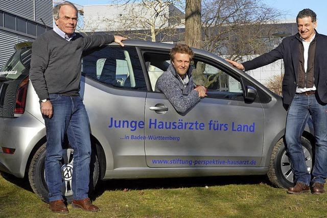 Stiftung leiht Medizinstudenten Autos